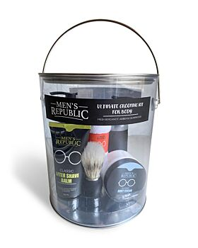 Men's Republic Ultimate Grooming Kit for Men - 7 pieces in Paint Can