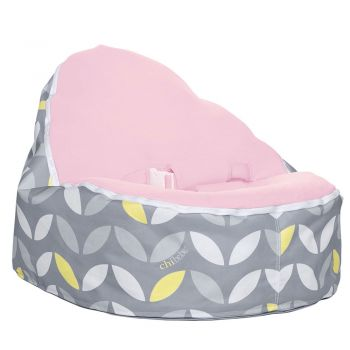 Chibebe Bloom Baby Bean Bag - Pink