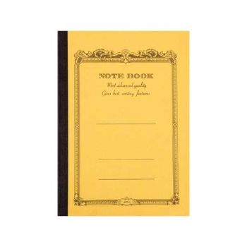 CD Notebook-B6 Lined Mustard