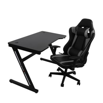Levede Computer Gaming Chair in Silver