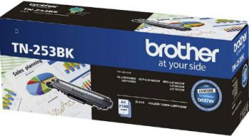 Brother TN-253 Black Toner Cartridge - Estimated Page Yield 2500 pages - TN253BK