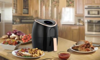 7L DIGITAL AIR FRYER ROSE GOLD