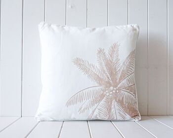 Outdoor Cushion - Coconut Palm Tree - Natural - 45x45