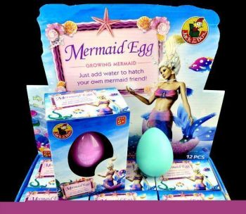 Growing Eggs - Mermaid