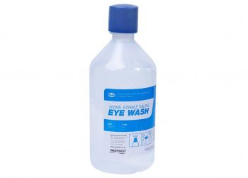 Eye Wash Solution 500ml Bottle 10x Pack