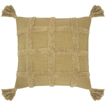 Percy Cushion 45 x 45cm Flax