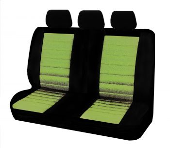 Universal Ice Mesh Rear Seat Covers Size 06/08Z | Green