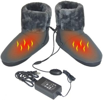 12V Carbon Fiber Heated Warming Booties