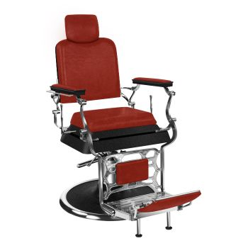 Barber Culture Achilles Barber Chair Red