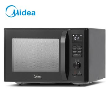 Microwave Convection Oven Ovens 30L Air Fryer Function w/ Grill Racks Kitchen Benchtop Countertop Cooker 2300W Black