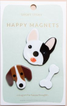 Happy Magnet Dog
