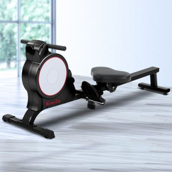 Everfit Magnetic Rowing Exercise Machine Rower Resistance Cardio Fitness Gym