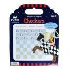 Knights & dragons checkers