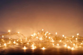 300 String LED Lights for Wedding CHristmas and Dinner Parties Warm White Tone