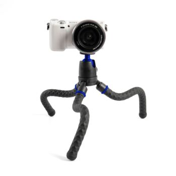 NEWAVE 12 Inch Handheld Octopus Phone Tripod Stand