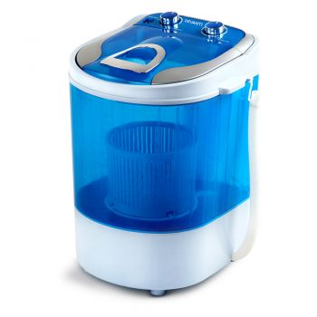 Devanti 4KG Mini Portable Washing Machine Spin Top Load Camping Caravan Outdoor