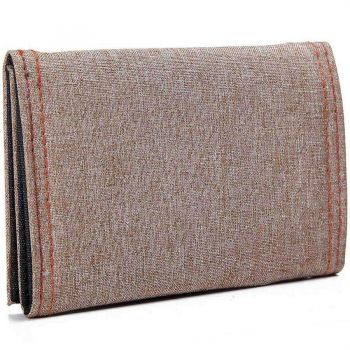 Khaki Men'S Denim Back Pocket Wallet