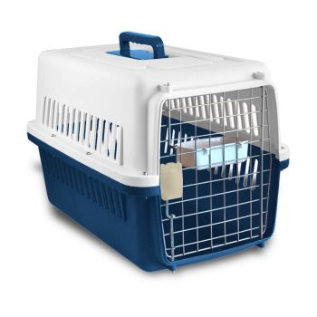 PaWz Portable Pet Kennel Travel Airline Carry Bag for Cats and Dogs in Blue