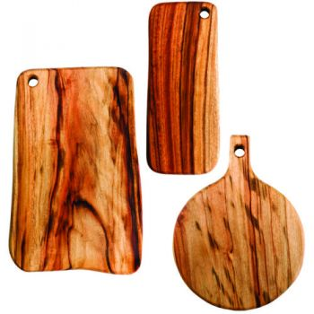 Fab Slabs - Antibacterial Wooden Cutting Boards and Grazing Platters - Model FS-PACK 05