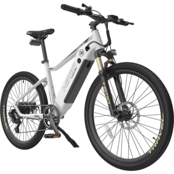 HIMO C26 White Electric eBike Outdoor Sports Bicycle Motorized 250W High-Speed Motor