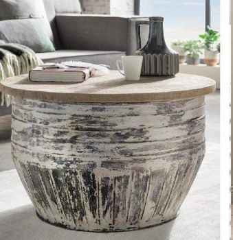 White Wash Coffee Table (The Pamela)