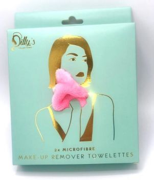 Pink Microfibre Make-up Remover Towelette