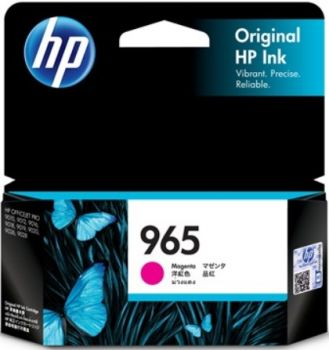 HP No. 965 Magenta Ink Cartridge - Estimated page yield 700 pages-3JA78AA