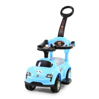 BoPeep 4 in 1 Baby Push Cars for Tiny Walkers in Blue Colour