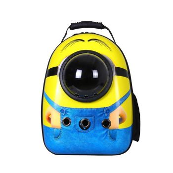 Pet carrier Astronaut Space Capsule for Pets Great for Travel Minions Print