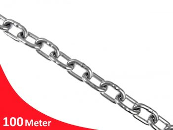 10.0mm Welded Medium Link G316 Stainless Steel Chain