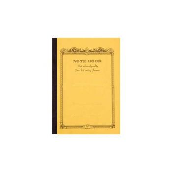 CD Notebook-B7 Lined Mustard