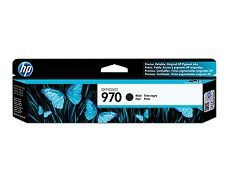 HP No. 970 Black Ink Cartridge - Estimated Page Yield 3000 pages - CN621AA