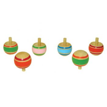 Wooden Top Toy 48pcs/inner
