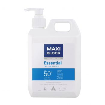 Maxiblock Essential Dry Touch lotion SPF50+ (1 Kg)