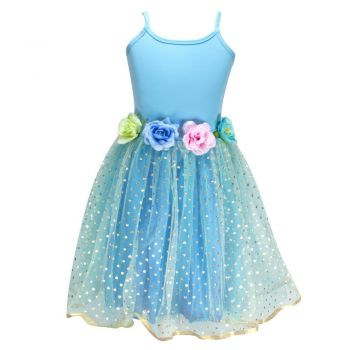 Into the woods dress size 3/4-blue