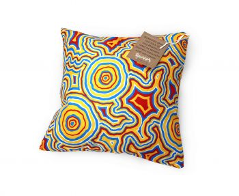 Cushion Aboriginal Design - Pathways Design - Stephen Hogarth
