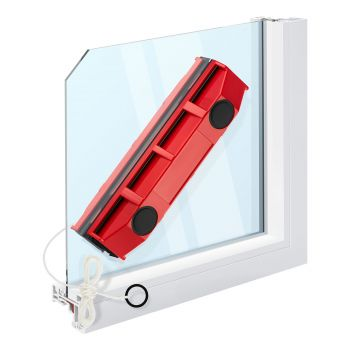 Tyroler BrightTools The Glider S-1 Magnetic Window Cleaner For Single Glazed Windows Up To 8 Mm Window Thickness.