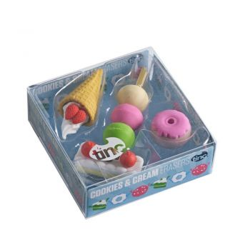Scented Cookies and Cream Erasers