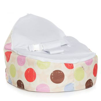 Chibebe Liberty Baby Bean Bag - Stone