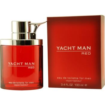 Yacht Man Red by Myrurgia EDT Spray 100ml For Men