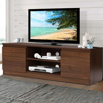 TV Cabinet Entertainment Unit Stand Side Storage Lowline Cupboard LCD LED