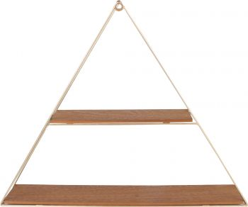 *** CASA DISPLAY SHELF TRIANGLE 50 X 40 X 10CM