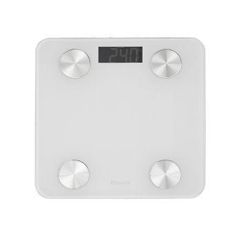 Body Fat Monitor Digital Bluetooth Weight Scales for 180 Kgs in White Colour