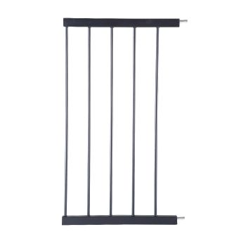 Safety Stair Barrier Extension Panels 45 cms in Black
