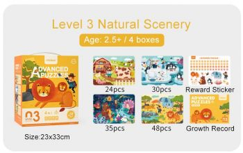 MiDeer Advanced Puzzle Level 3 Natural Scenery