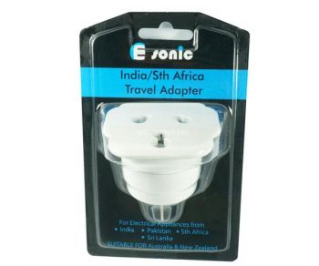 INDIA/SOUTH AFRICA TRAVEL ADAPTER