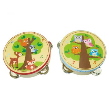 Animal Tambourine 2pcs/Set