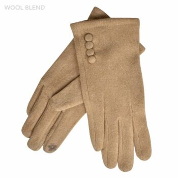 Four Buttons Gloves