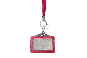 Mad Ally Bling Lanyard- Hot Pink