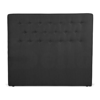 Levede Stylish Upholstered Fabric Bed Frame Mattress Base King Charcoal